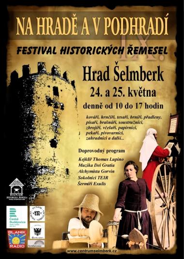 Na hradě a v podhradí - FESTIVAL HISTORICKÝCH ŘEMESEL
