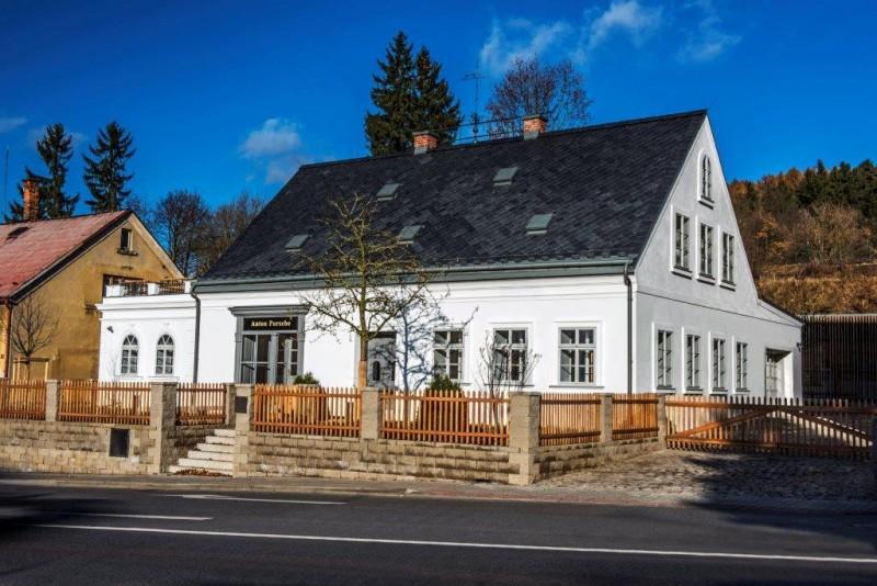 Rodný dům Ferdinanda Porscheh